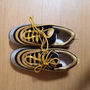 Nike Air 97 silver/gold/black